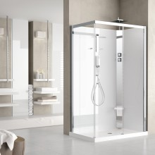 Shower cubicles - Crystal 2P 120x80 standard