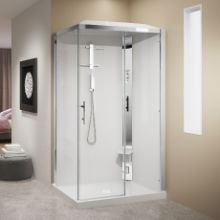 Shower cubicles - Crystal 2P 120x80 hydromassage