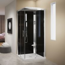 Shower cubicles - Crystal A100X80