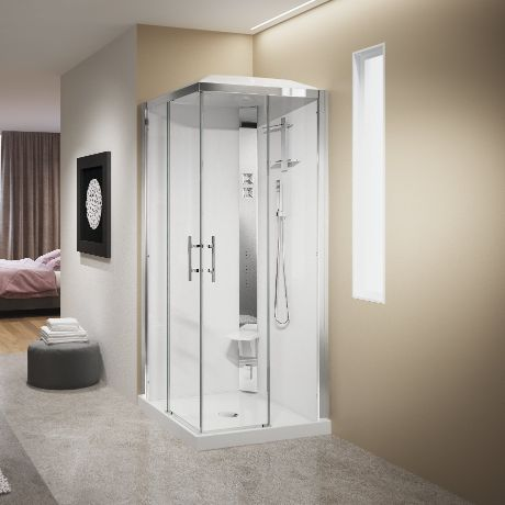 Shower cubicles - Crystal A90
