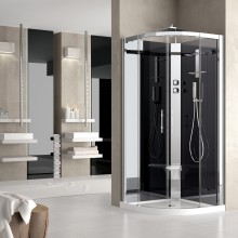 Shower cubicles - Crystal R90 standard