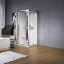 Shower cubicles - Glax 3 G+F 80/90 hydro