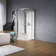 Shower cubicles - Glax 3 R 90 hydro