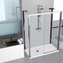 Shower enclosures - Kuadra 2P+F+F