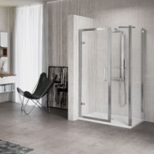 Shower enclosures - Kuadra G+1F in line +F