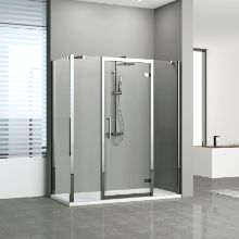 Shower enclosures - Kuadra G+2F in line +F