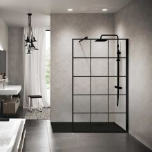 Shower spaces - Kuadra H Black