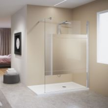 Shower spaces - Kuadra H Mirror