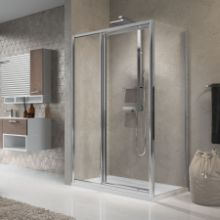 Shower enclosures - Lunes G+F in line +F